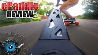 Carbon Longboard mit ePaddle Turbo Antrieb [REVIEW/DEUTSCH]