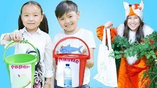 Clean Up Trash Song Bonny Kids Rhymes