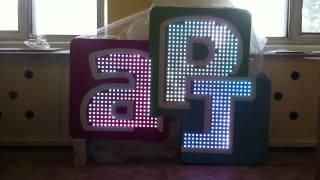 Светодиодные буквы с анимацией от ООО