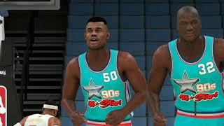 NBA 2K20 No Crowd - 2010's All Stars vs 1990's All Stars - Full Game (NBA 2K20 Gameplay)