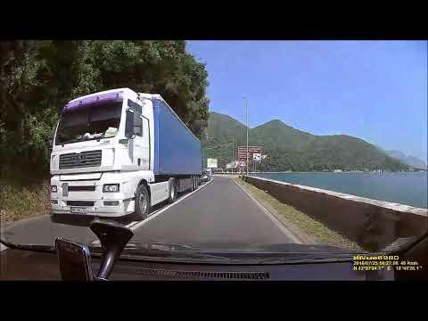 Herceg Novi - Perast - Kotor 2016 HD Droga Samochodem