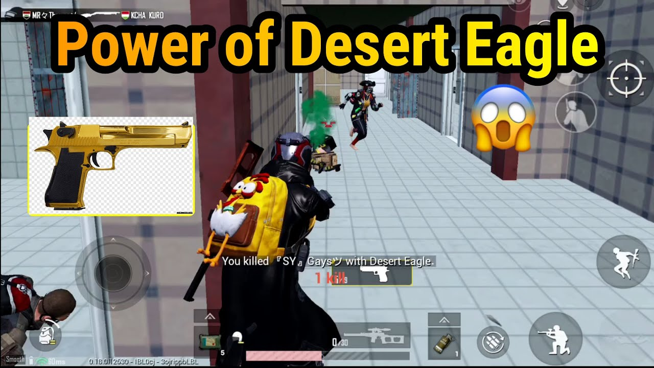 Can I Survive With Desert Eagle Only?? 😱 | Solo Vs Squad | PUBG Mobile