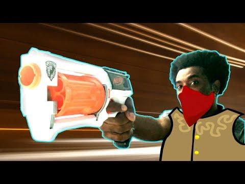 Minha Primeira Nerf Na Vida!!! O Brinquedo Mais Legal [Vlog] Lançador Maverick - Omega Play