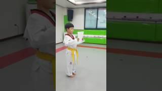 부평월드태권도 ''웅변-주제발표''