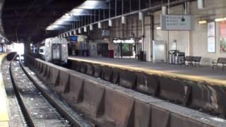 Amtrak in Newark Penn Station