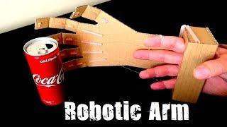 Kartondan Robotik Kol Nasıl Yapılır - How to Make a Robotic Arm at Home out of Cardboard