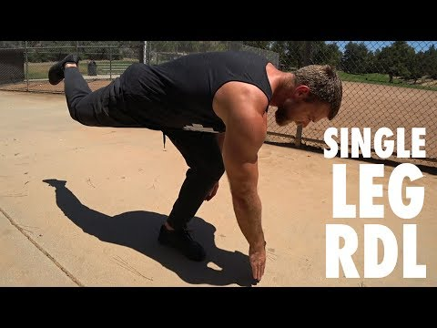 How To Perform Single Leg Romanian Deadlifts  - Bodyweight Exercise Tutorial