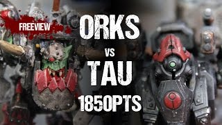 Warhammer 40,000 Battle Report: Orks vs Tau 1850pts(, 2016-02-04T07:17:07.000Z)