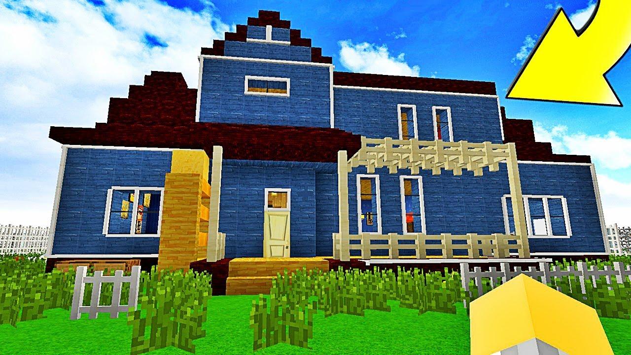 Bienvenue Dans La Nouvelle Maison De Mon Voisin Hello Neighbor Minecraft Furious Jumper 21 06 Hd