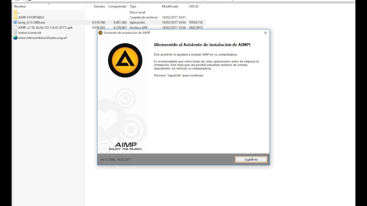 AIMP v4 13 1886 Multilenguaje (Español) + Portable 2017 + LINK MEGA
