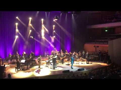 Wayne Ellington singing 'My Girl', Bridgewater Hall, Manchester 30/03/17