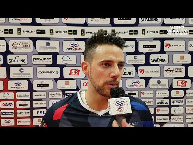 Santiago Orduna post Vero Volley Monza vs Sora