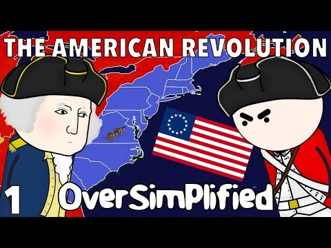 The American Revolution  - OverSimplified (Part 1) Mp3