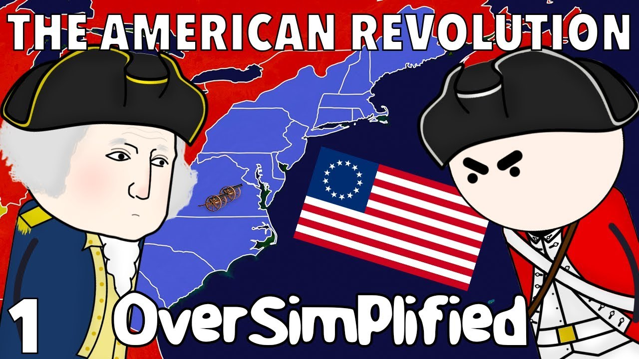 Download The American Revolution  - OverSimplified (Part 1)