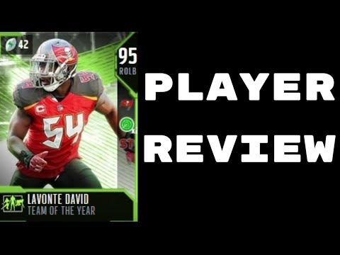 Team Of The Year Lavonte David | Player Review | Madden 18 Ultimate Team Gameplay