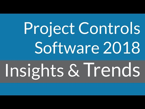Project Controls Software in 2018: Trends You Need To Know About.