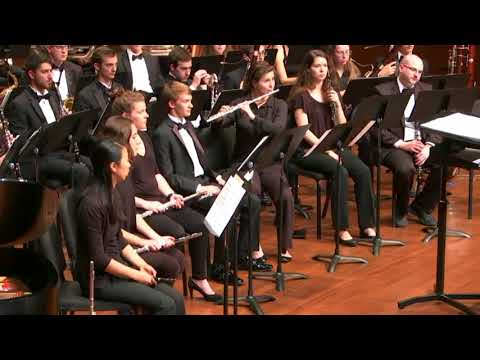 """The Seeker"" by David Maslanka - James Madison University Wind Symphony"