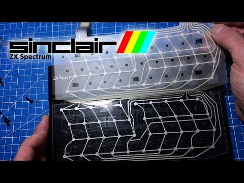 ZX Spectrum 48K Keyboard Membrane Replacement