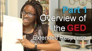 Overview of the GED Extended Response—Video 1 of How to Pass the GED Extended Response
