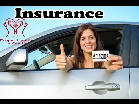 Health Insurance, Life Insurance and Car Insurance explainer and informative video