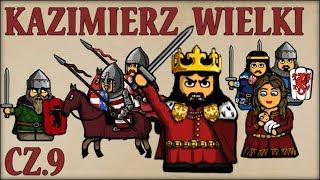 Kazimierz III Wielki cz.9  (Historia Polski #67) (1350-1354) - Historia na Szybko