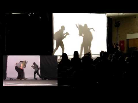 HOW TO DO A SHADOW DANCE (LOOK BEHIND THE CLOTH)