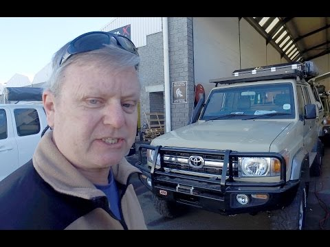 vlog | Cape Town prep for our 4x4 Africa 2016 Expedition. 4xOverland