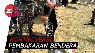 Download Video Heboh Pembakaran Bendera Berkalimat Tauhid MP3 3GP MP4