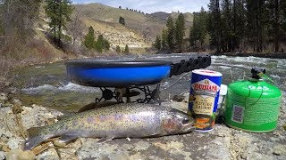 Catch n' Cook Wild Trout Deep in the Mountains