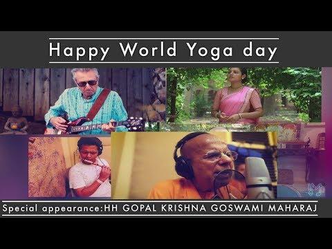 30 Artists - HARE KRISHNA Mantra Meditation Kirtan - Madhavas Rock Band