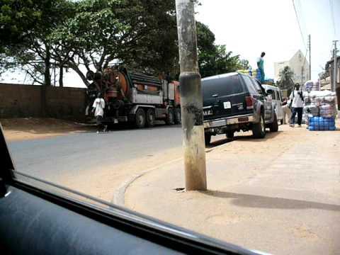 Driving Through Banjul