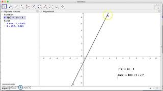 Funktioner, Geogebra, sådan tegner du funktioner i geogebra.