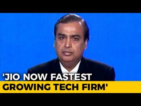 Jio Grew Faster Than Facebook, WhatsApp Or Skype In 3 Months, Says Mukesh Ambani