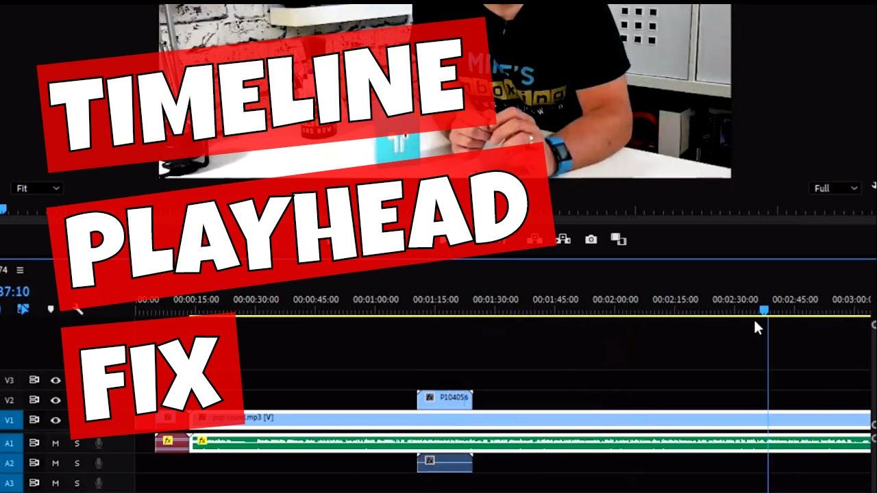 Adobe Premiere Pro Timeline Play Head Stuck & Laggy Rendering Glitch Fix