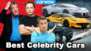 REVEALED: the cars Elon, Clarkson and other celebrities actually own!