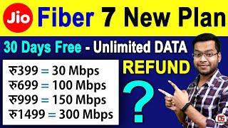 JIO Fiber New Plans - NETFLIX, PRIME FREE 😍😍 Jio Fiber Refund Policy   Existing User? Jio Fiber T&C