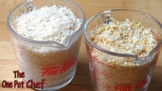 quick tips how to make fresh and dried breadcrumbs   one pot chef