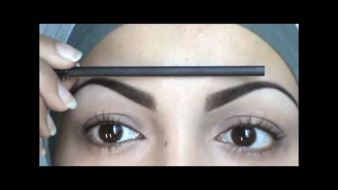 The Unibrow Technique How To Make Your Brows Even