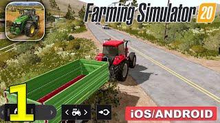 Farming Simulator 20 Gameplay Walkthrough (Android, iOS) - Part 1