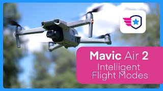 DJI Mavic Air 2 Focus Track Tutorial (Active Track, Spotlight, POI)