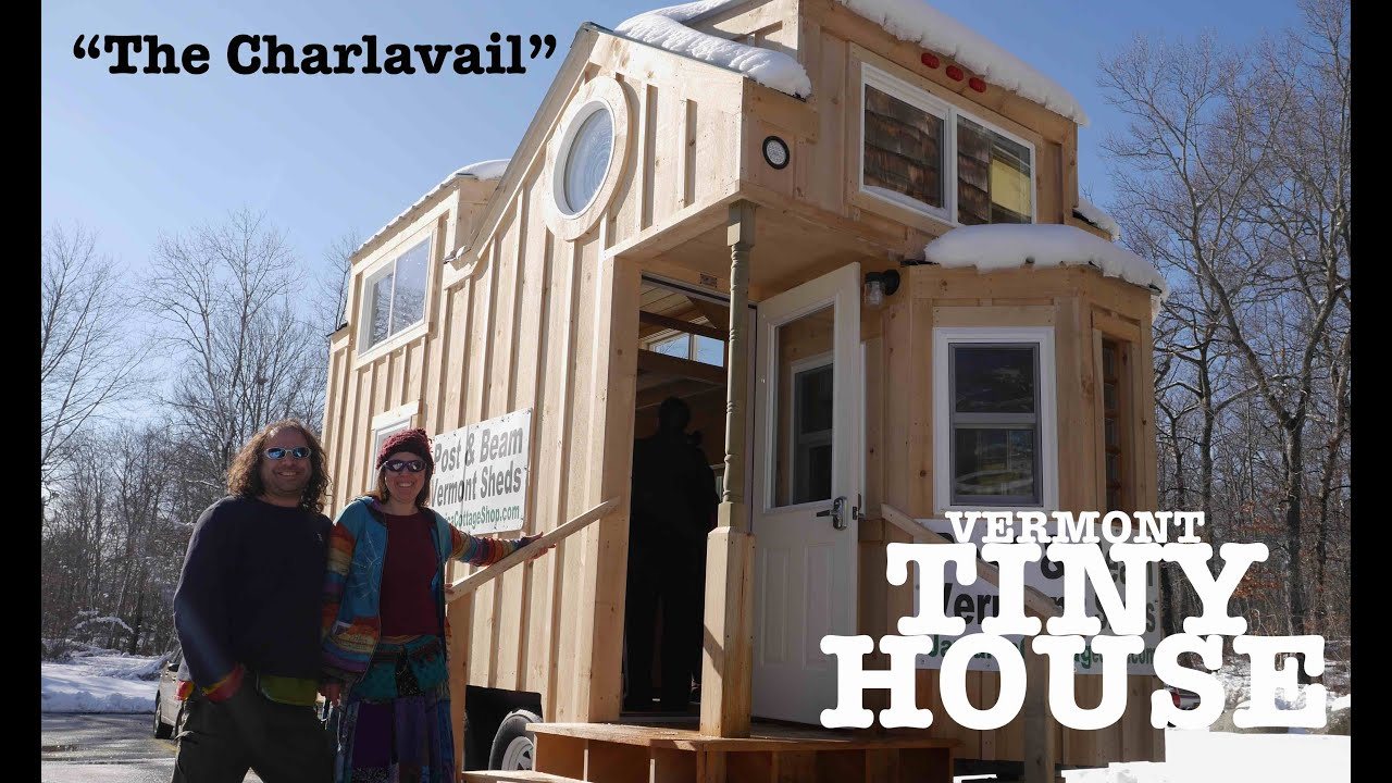 The Charlavail A Rustic Solar Tiny House on Wheels YouTube