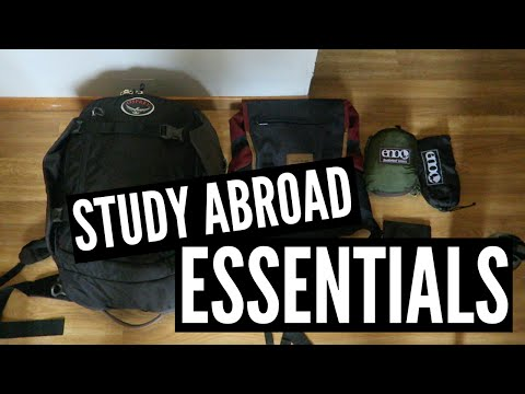 Packing & Travel Essentials | Study Abroad Vlog 2