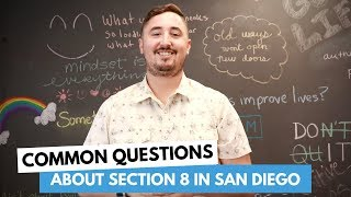 Common Questions About Section 8 in San Diego