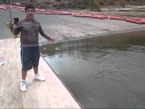 Castaic lake bass and trout fishing youtube for Pyramid lake ca fishing report