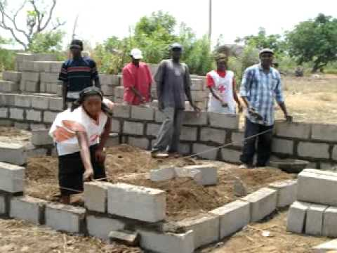 Building solid foundations in Ghana.wmv