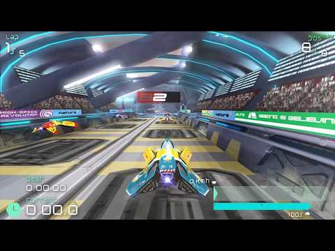 Wipeout Pulse on PC - All Tracks - PPSSPP 0.9.9.1 - 1080p 60fps