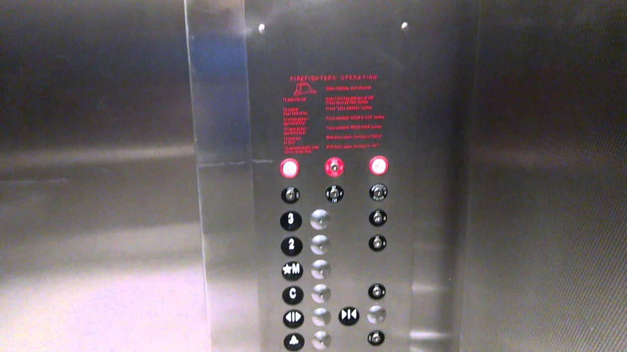 Thyssenkrupp Oildraulic Elevator In Westy Self Storage
