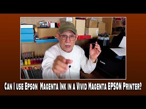 Can I Use Epson  Magenta Ink In A Vivid Magenta EPSON Printer