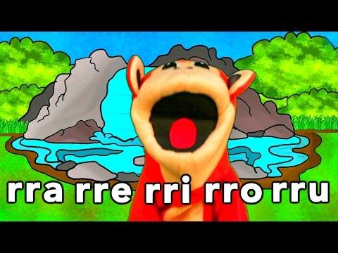 Sílabas rra rre rri  rro  rru - El Mono Sílabo - Videos Infantiles - Educación para Niños #