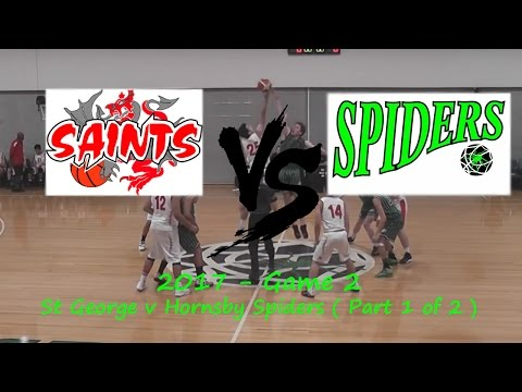 2017 - Game 2 - St George v Hornsby Spiders ( Part 1 of 2 )